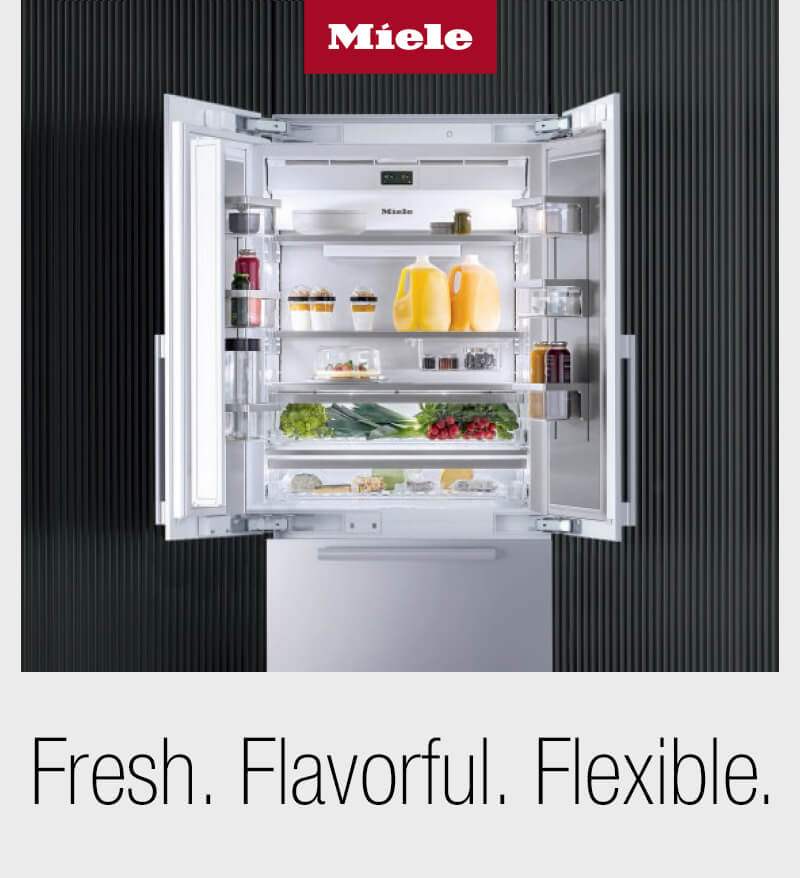 Save $500 off select Miele MasterCool Bottom-Mount Refrigeration