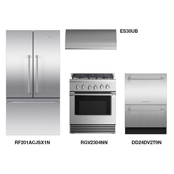 Fisher and Paykel Kitchen Package