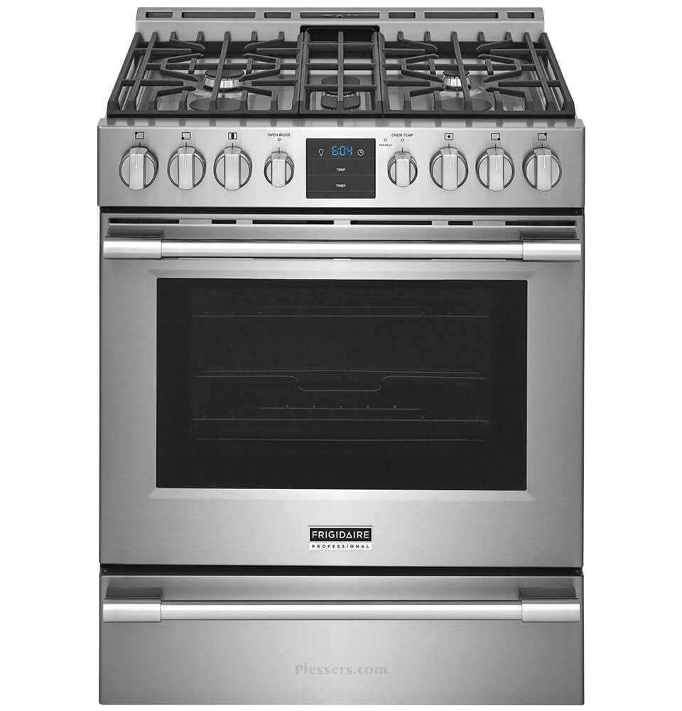 Frigidaire Professional 30'' Front Control Gas Range with Air Fry
